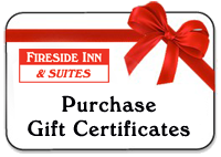 Purchase Fireside Inn Gift Certificates